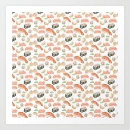 Sushi Time Art Print