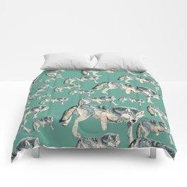 Totem Polar wolf Comforters