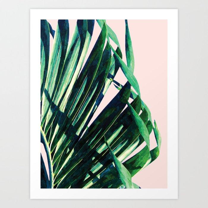 Palm V2 #society6 #decor #buyart Art Print