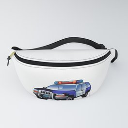 Great and Cool police car policemen Design  Fanny Pack