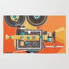 Cine: Orange Rug