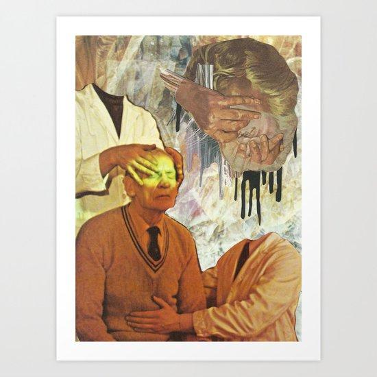Healing Hands Art Print