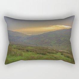 Cumbrian Sunset. Rectangular Pillow