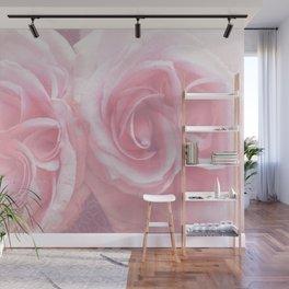 Tender Roses in Spring Wall Mural