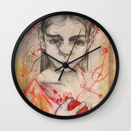 Heart String Wall Clock
