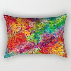 Color Theory Clash Rectangular Pillow