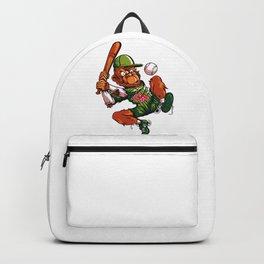 Baseball Monkey - Limerick Backpack