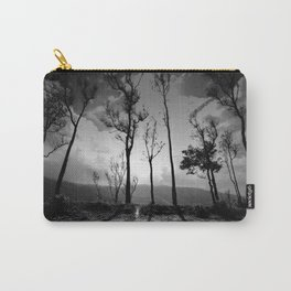 Ghostly trees and mountain roads Carry-All Pouch