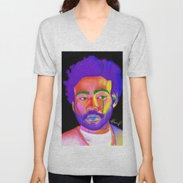 Childish Gambino aka Donald Glover Unisex V-Neck