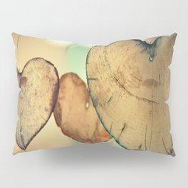 Vintage Boho Chic Bokeh Hearts Wind Chimes Pillow Sham
