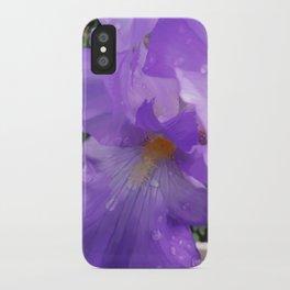 Iris Dew iPhone Case