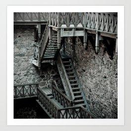 Trakai castle  Art Print