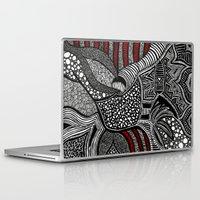 wave Laptop & iPad Skins featuring Wave by Lauren Moore