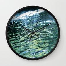 like a rivulet 02 Wall Clock
