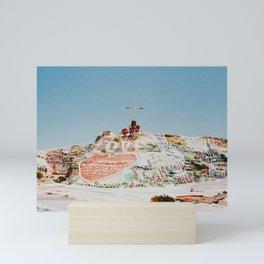 Salvation Mountain II / California Desert Mini Art Print