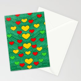 love is in all of us to give and show Stationery Cards