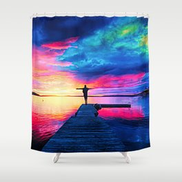 Your Belief Shower Curtain