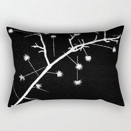 Twigs and Thorns Photogram Rectangular Pillow