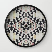 navajo Wall Clocks featuring navajo by spinL