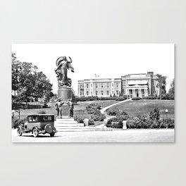 Moses-Ludington Hospital 1930 Canvas Print