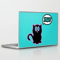 yolo Laptop & iPad Skins featuring Yolo? by Marvin Porcher