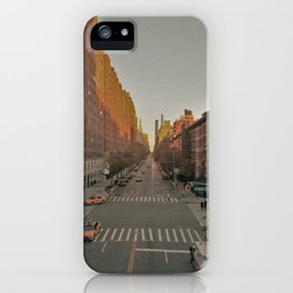 The Yellow Muted City (Color) iPhone Case