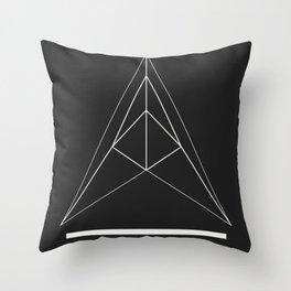 Acidulant Logo Throw Pillow