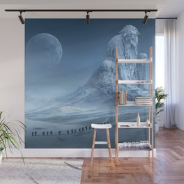 Travel On Fantasy Planet Wall Mural