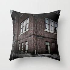 Brick By Boring Brick Throw Pillow