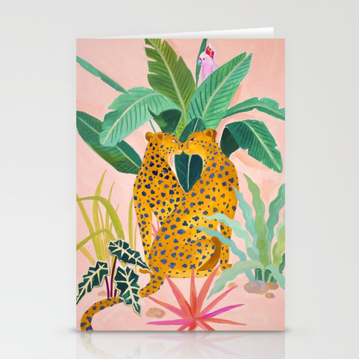 Cheetah Crush Stationery Cards