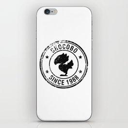 Chocobo since 1988 - Final Fantasy series iPhone Skin