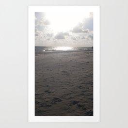 Grey is beautiful Art Print