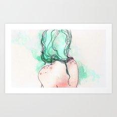 girl II Art Print