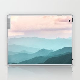 Smoky Mountain National Park Sunset Layers II - Nature Photography Laptop & iPad Skin
