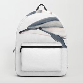 Long-beaked dolphin and baby Backpack