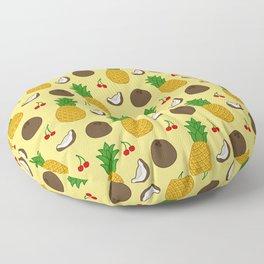 Piña Colada Smoothie Floor Pillow