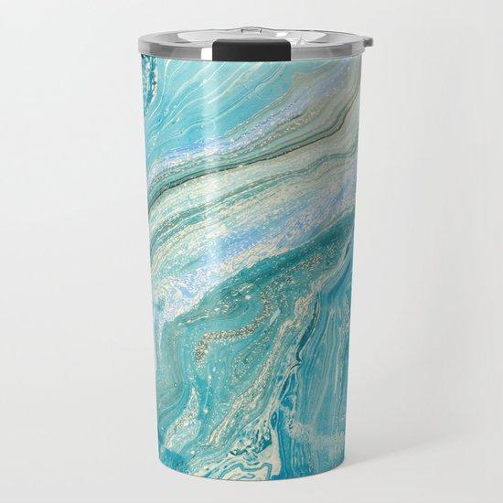 Blue Liquid Marble by newburydesigns