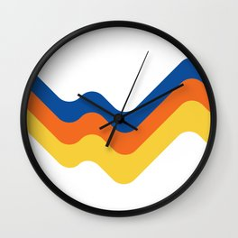 Sound Wave Wall Clock