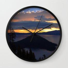 Island Solitude.. Wall Clock