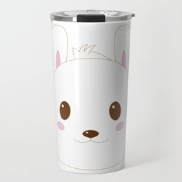 A rabbits love Travel Mug