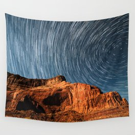 Stars on the Cliffside Wall Tapestry