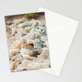 Coral Wall Stationery Cards