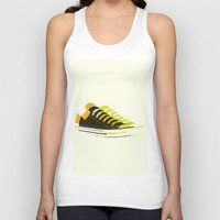 shoes Tank Tops featuring shoes by Lyndi888