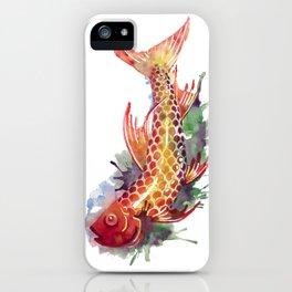 Fish Splash iPhone Case
