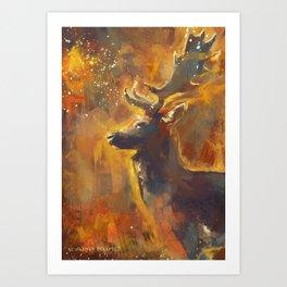 A Wild Stillness. Art Print