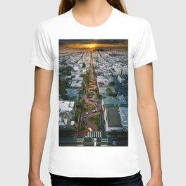 Sunrise at Lombard Street T-shirt
