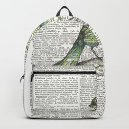 Green Is Cool Backpack