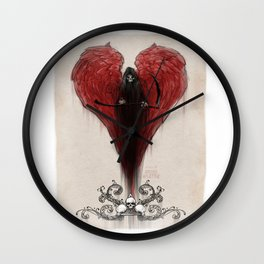Love Kills; or at least makes you very uncomfortable Wall Clock