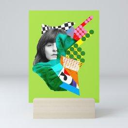 It's Not Us Mini Art Print