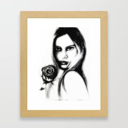 Eleanor Rose  Framed Art Print